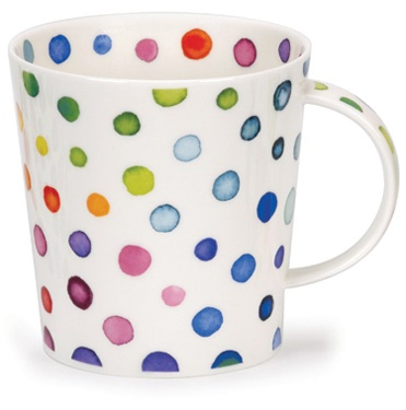 Spot OnDunoon Collection, Polka Dots, Kitchens Cutie, Poka Dots, Brilliant Colors, Ora Bolas, Things Dots, Pintura Porcelana, Cups Runneth
