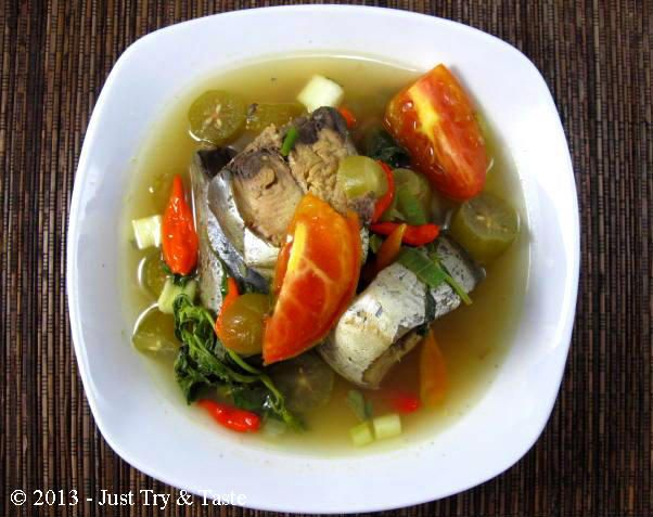 Just Try  Taste: Sup Ikan Tongkol