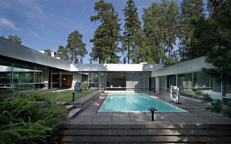 Villa Didrichsen Art Museum  by Viljo Revell (1959). More info on >>http://www.arcspace.com/travel/travel-guide-helsinki/