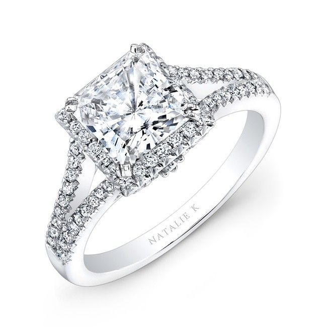 Princess Cut Engagement Rings Beautiful And Bright Wedding Ideas