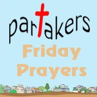 Come and spend just 5 minutes praying and giving praise to God! Let me know if you have visited! http://davegroberts.podbean.com/2012/07/13/friday-prayers/: God, Frday, Partakers, Praise, From, Minutes Praying, Spend