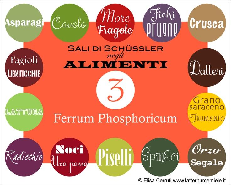 Ferrum phosphoricum (Schüssler salt) in foods (Read the story: https://www.facebook.com/photo.php?fbid=494170960618675=a.493267134042391.103221.176784965690611=1)