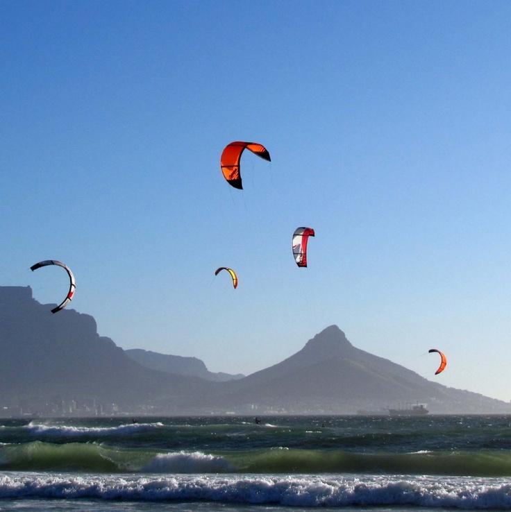 Kite Surfing....