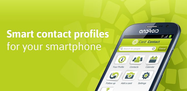 Card2Contact is a patent pending mobile app that shows everything about your contacts right inside your smartphone ‎#android ‎#app Beta sign up available on ‎#GooglePlay ‎#androidapps .Full Version will be launching soon http://www.card2contact.com/