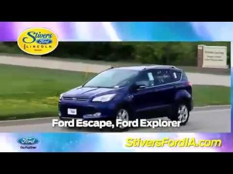 Ford Edge Urbandale IA – Stivers Ford – Voted Best Car Dealer | Urbandal...