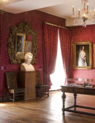 Maison de Victor Hugo - Le salon rouge - 6, place des Vosges, Paris, 4ème