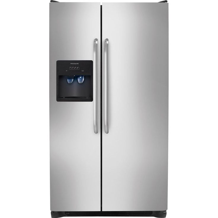 refrigerator amazon. ft. stainless steel side-by-side refrigerator amazon