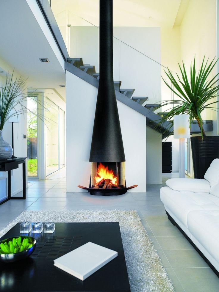 die besten 25 offener kamin ideen auf pinterest moderner kamin fen esszimmer kamin und. Black Bedroom Furniture Sets. Home Design Ideas