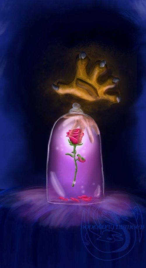 disney, beauty and the beast, and wallpaper resmi