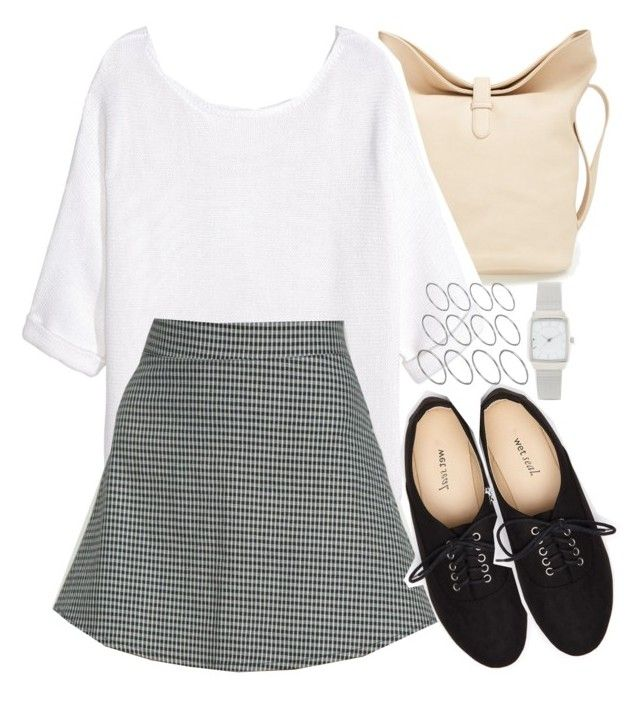 """""""Lydia Inspired Outfit with Black Oxfords"""" by veterization ❤ liked on Polyvore featuring Emperia, H&M, Wet Seal and ASOS"""
