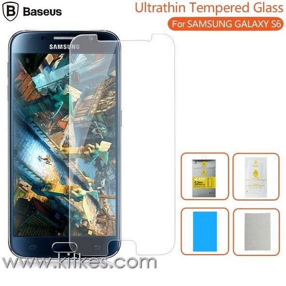 Baseus Tempered Glass Samsung Galaxy S6 - Rp 80.000 - kitkes.com