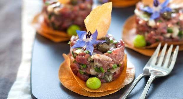 Tartare de bœuf aux huîtresVoir la recette du Tartare de bœuf aux huîtres >>