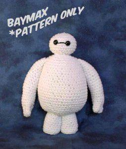 Baymax Crochet Amigurumi Pattern