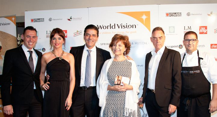 World Vision Charity Gala in Hotel Puente Romano