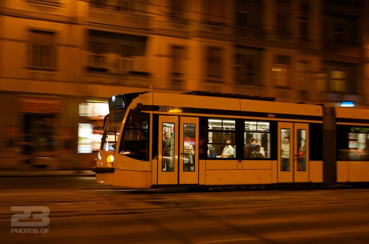 Late Night Tram - Budapest photo | 23 Photos Of Budapest