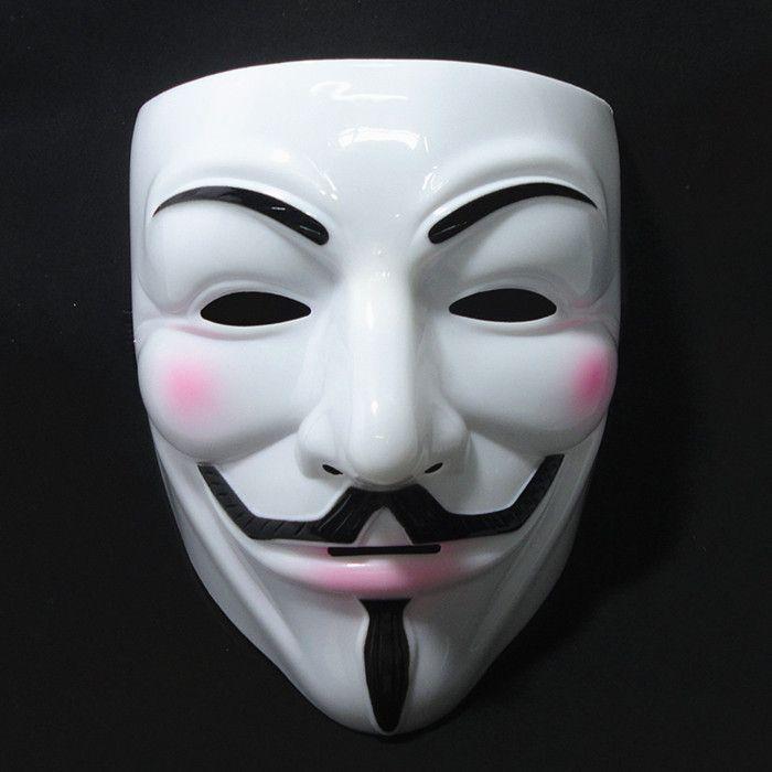 10pcs/lot V for Vendetta Masks Halloween Television figures V mask ...