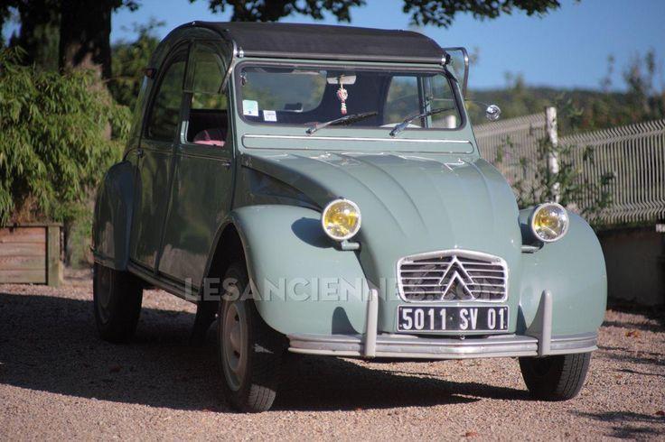 Ventes Auto - CITROEN 2CV AZA - 1963 - les annonces Les ANCIENNES com - ANCIENNES.NET
