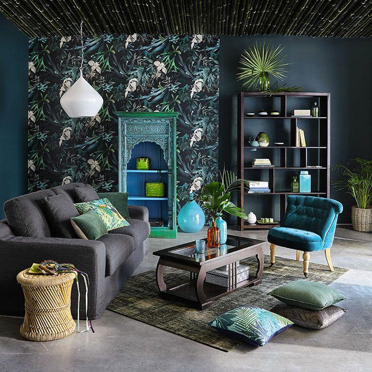 Les 44 meilleures images propos de tropical deco sur for Decoration maison tropicale