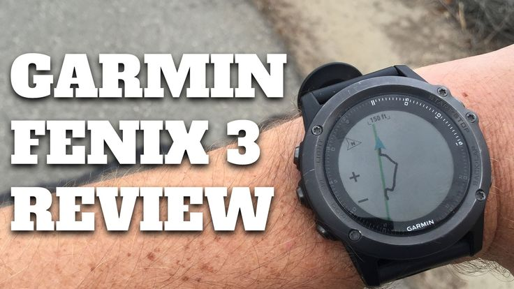 Garmin Fenix 3 Hiking GPS Review