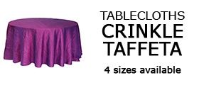 Wholesale Tablecloths, Wedding Table Linens, Spandex Table Covers | Los Angeles, California
