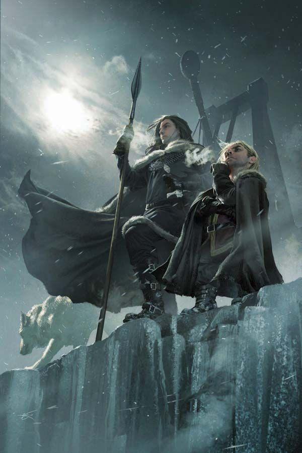 Tyrion Lannister sur le mur du nord