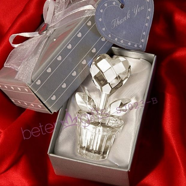 Gift Boxes For Jewellery Directly From China Gifts Unusual Suppliers Aliexpress Wholesale Crystal Place Card Holders Favours Wedding Favor