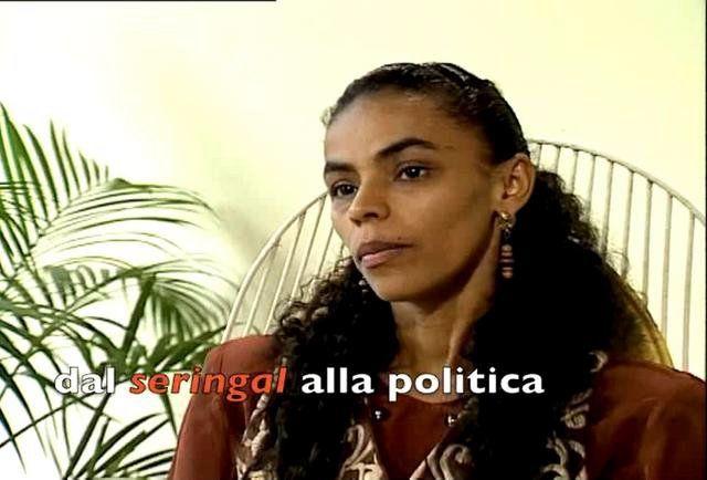 Marina Costa, la sfidante di Dilma alla Presidenza del Brasile in una mia intervista del 1994, a Rio Branco.