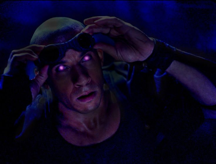 """How the hell do I get eyes like that?""  ""Gotta kill a few people""  Riddick"