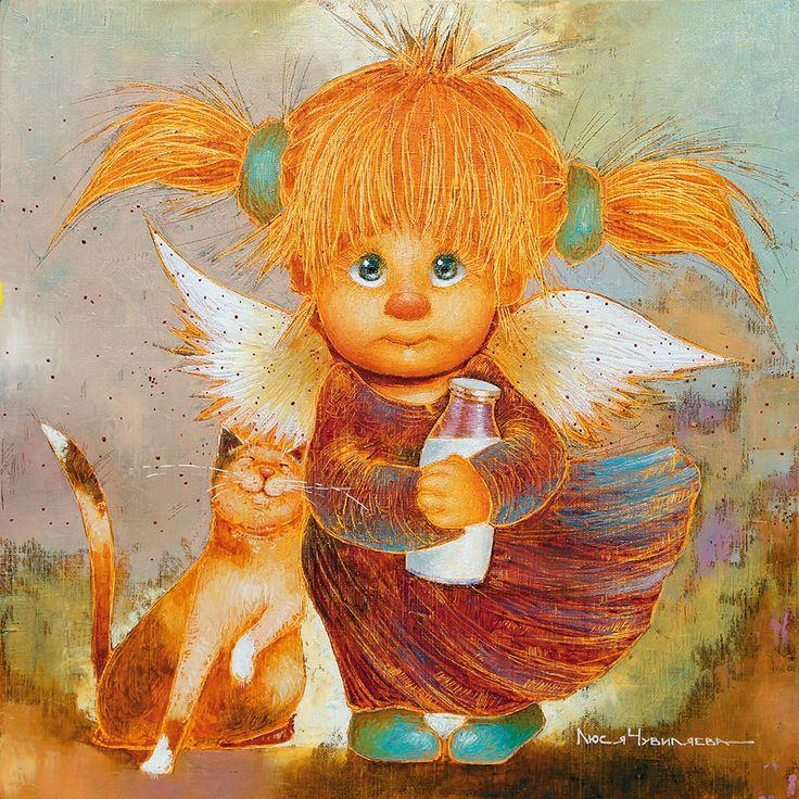 картинки добрые ангелы иллюстрации как лучше