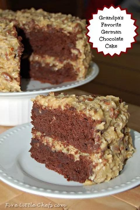German Chocolate Cake recipe and this delicious frosting recipe are both easy and the best! This recipe made from scratch is delicious. Your guests will ask for the recipe.