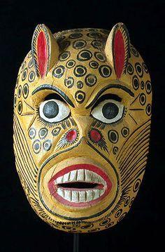 Masked Heads, Mexican Mask, Masks Arty Folk Art, Art Museo De, Mexico, Costumes Masks, Heads Costumes, Tribal Masks Ancient Art, Masks Heads