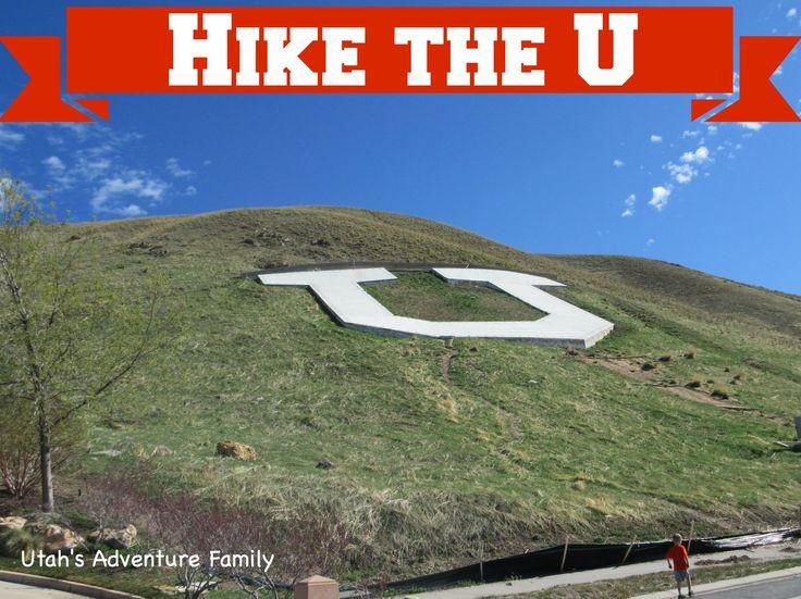 Hike the U for University of Utah (Salt Lake City)