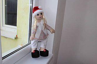 Bábiky - textilná bábika - 7524659_
