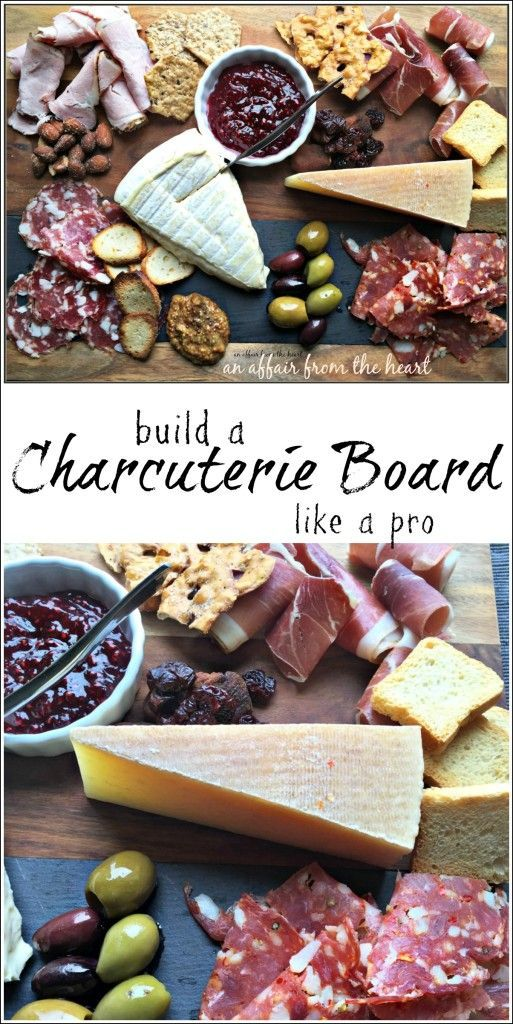 Build a Charcuterie Board Like a Pro - An Affair from the Heart -- Charcuterie…