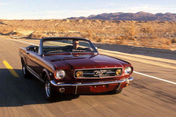 50 Jahre Ford Mustang - vintage car - oldtimer - muscle car - american