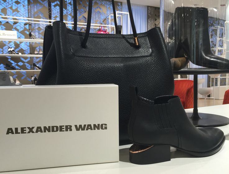 Alexander Wang Image captured at Stockmann Helsinki flagship store