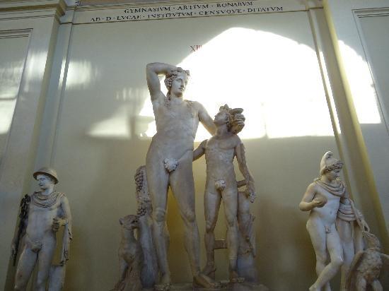 Vatican Museums: una delle statue del cortile ottagono