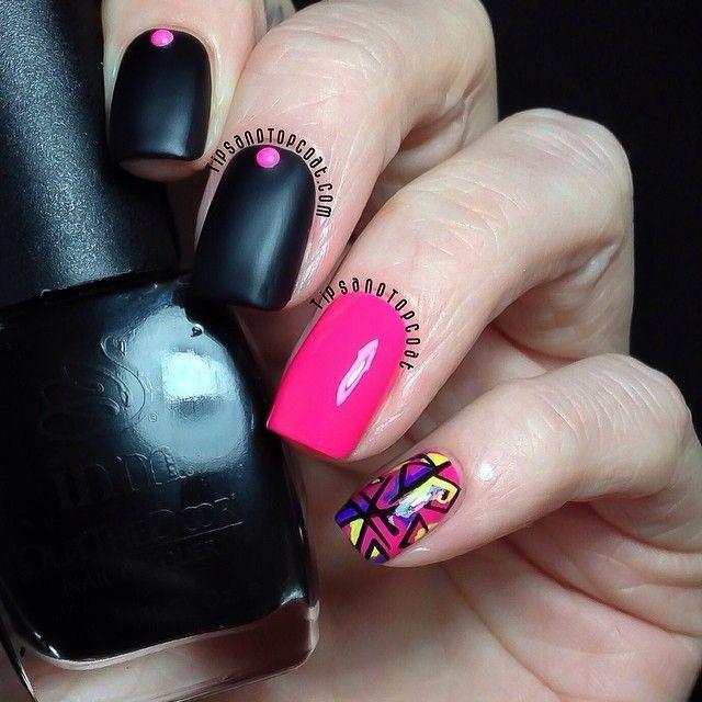 tipsandtopcoat #nail #nails #nailart