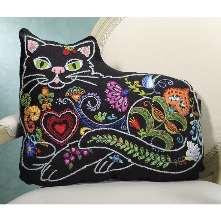 25+ Best Ideas About Crewel Embroidery Kits On Pinterest
