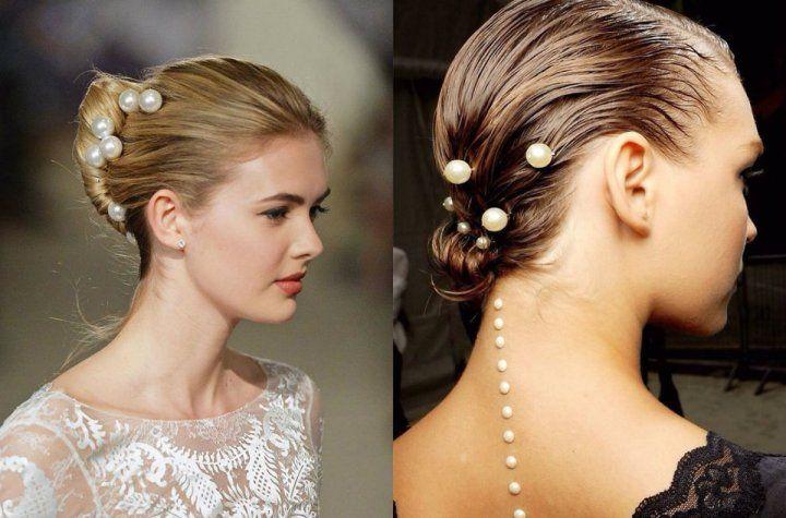 10 Idees De Cheveux De Mariage Glamour Pour Les Futures Mariees Cheveux De Mariee Coiffure Nuptiale Coiffure Cheveux Attaches