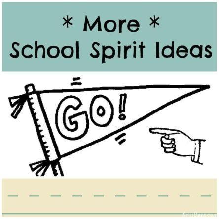 More school spirit ideas!