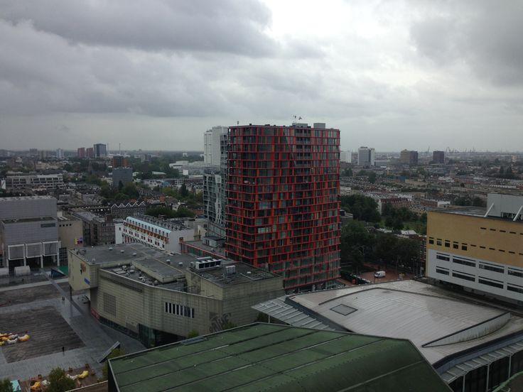 Downtown view of Rotterdam. @ #Rotterdam apartment #Skim #Doelen #Pathe #schouwburgplein #Calypso