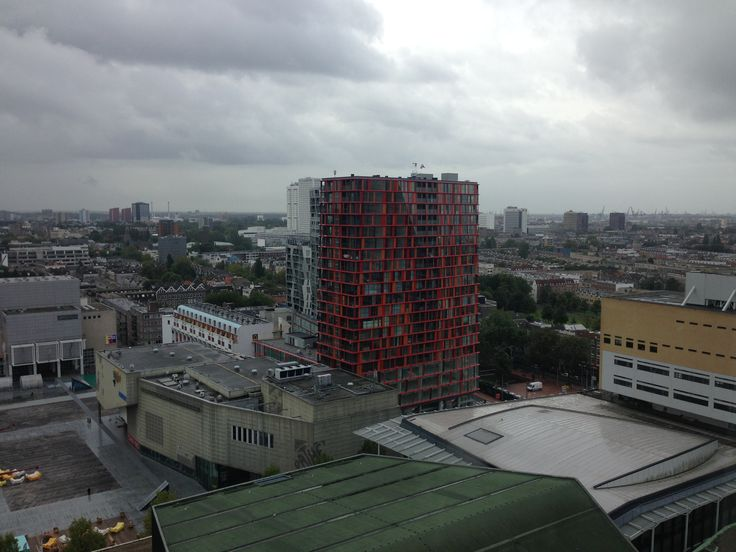 Downtown view of Rotterdam. @ #Rotterdam apartment #Skim #Doelen #Pathe #schouwburgplein #Calypso