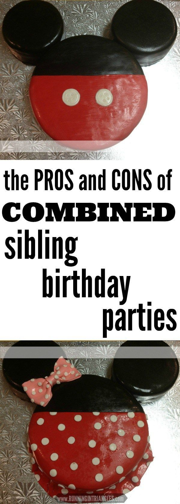 Having children with birthdays close together can either be a PRO or a CON, depending on how you look at it. Is a sibling birthday party right for you?