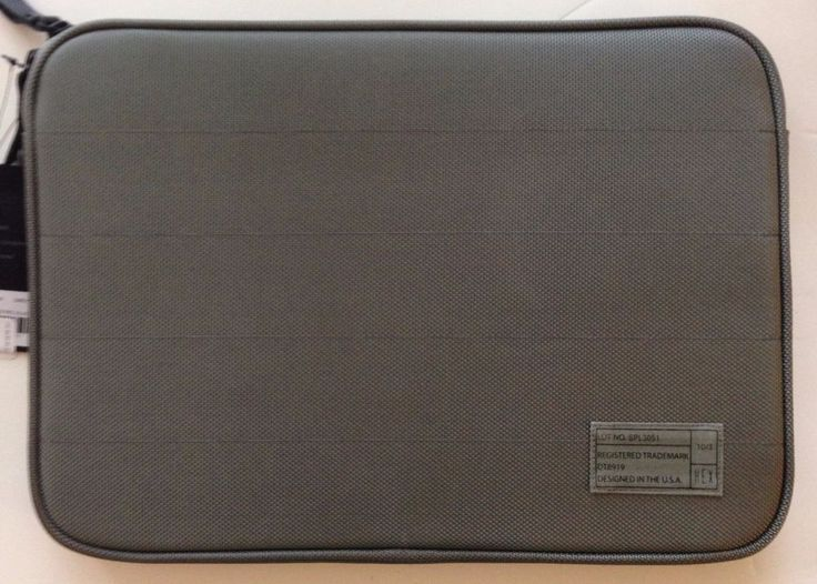 HEX Zippered Sleeve for  Microsoft SURFACE Pro 3, Pro 2, or Surface 3 - Grey #Hex