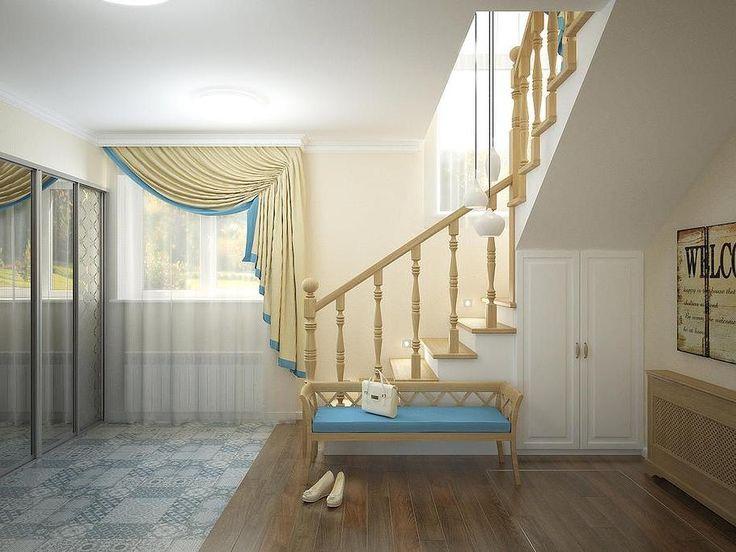 Шторы для холла, прихожей или коридора