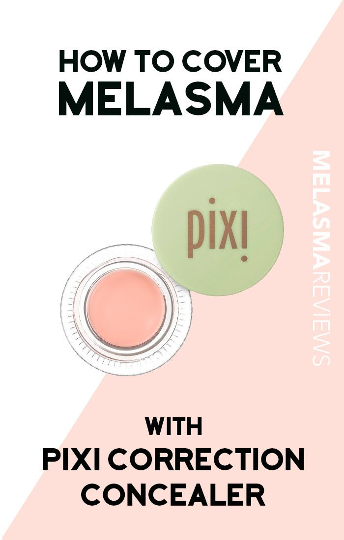 Find out whether or not the Pixi Correction Concealer is a good product for covering a melasma mustache on MelasmaDiaries.com