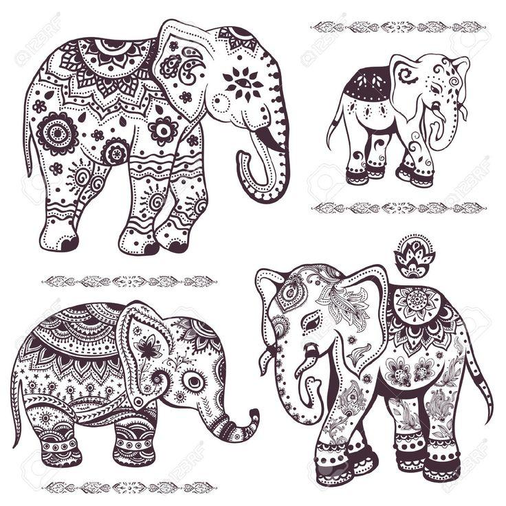 71 besten Tattoo Elefanten Bilder auf Pinterest | Elefanten, Tattoo ...