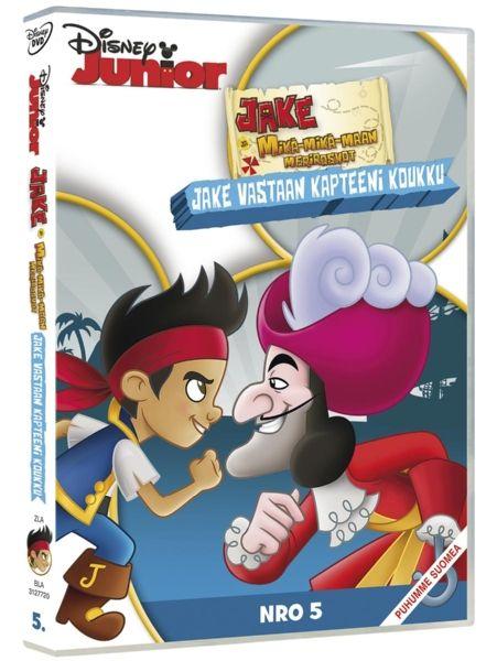 Jake vastaan Kapteeni Koukku -DVD