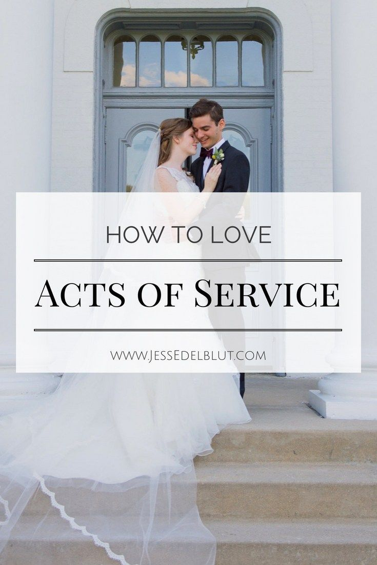 Acts of service love language dating